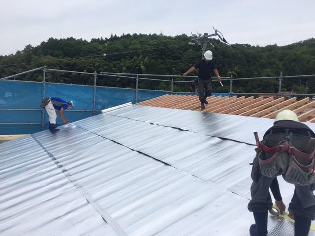 三良坂 T様邸新築工事 上棟