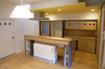 蓄熱暖房器・LDKリフォーム 広島市安佐南区