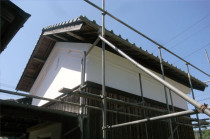 土蔵外壁補修 広島市佐伯区