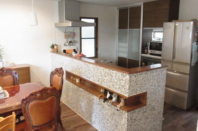 オープンキッチンへリフォーム 広島市佐伯区