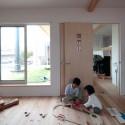 芝屋根へ続く子供部屋