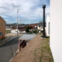 2階の芝屋根
