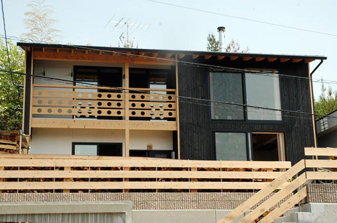 広島市佐伯区 焼杉の家