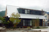 広島市西区 三角とんがり屋根の家