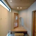 和室へ続く玄関ホール