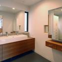パウダースペース付きの洗面脱衣室