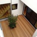 2階から見た中庭