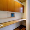 キッチン横の家事スペース